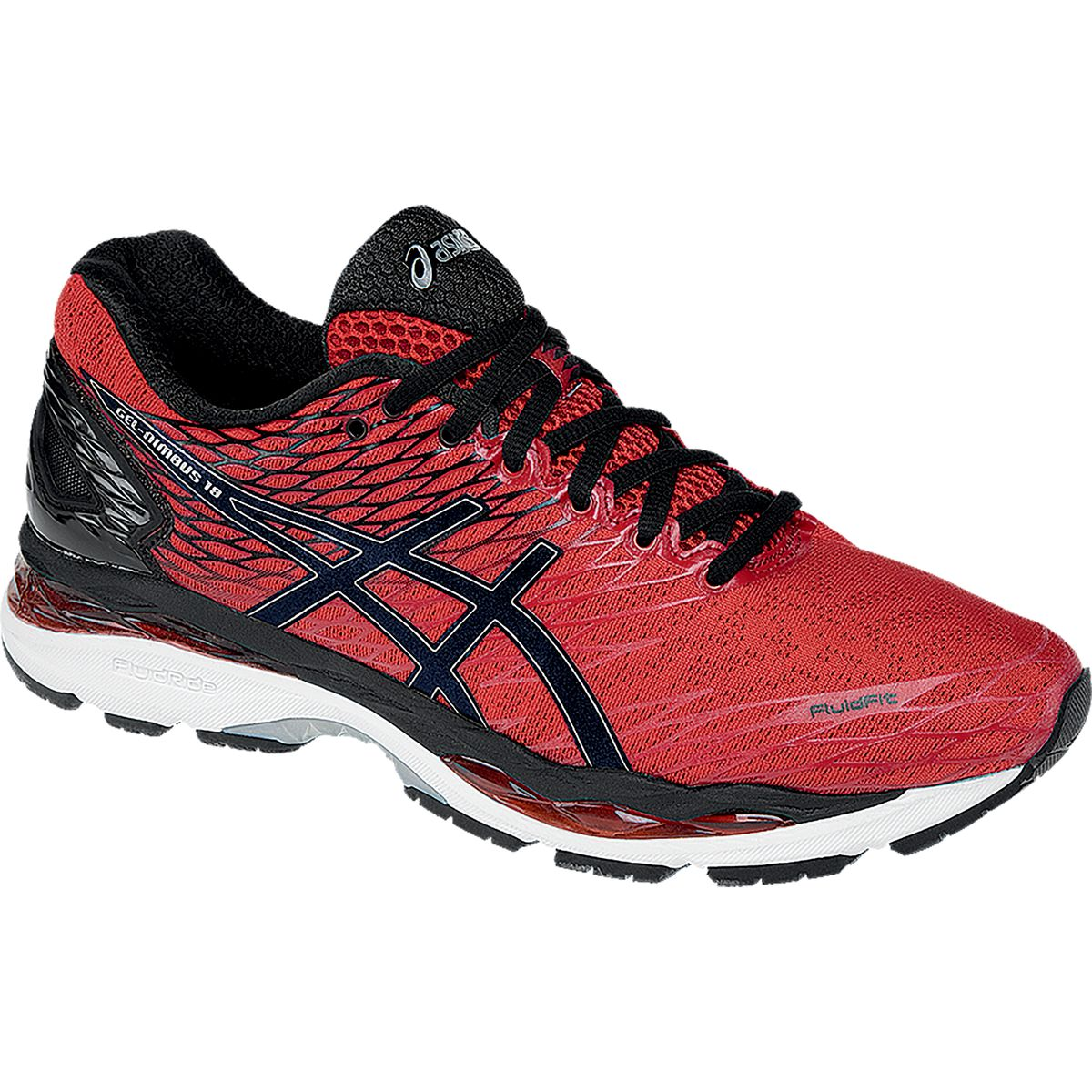 asics gel nimbus 18 running shoe men 39 s competitive cyclist. Black Bedroom Furniture Sets. Home Design Ideas