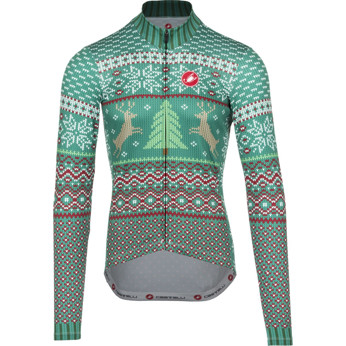 Castelli Holiday Sweater Jersey Long Sleeve Men S
