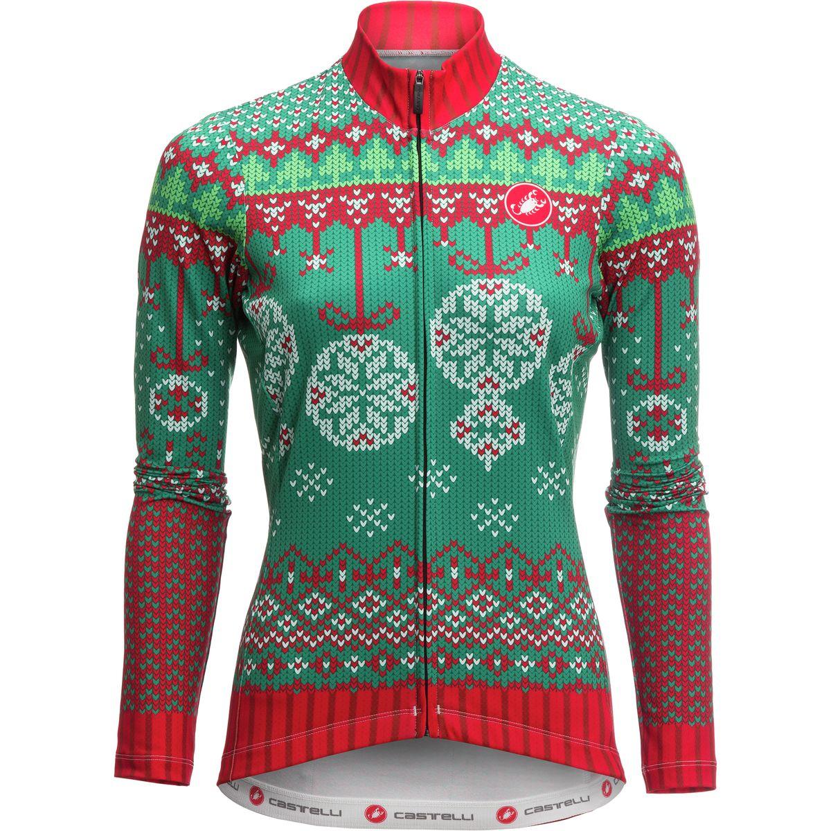 Christmas Lights Jersey: Castelli Holiday 2016 Sweater Jersey