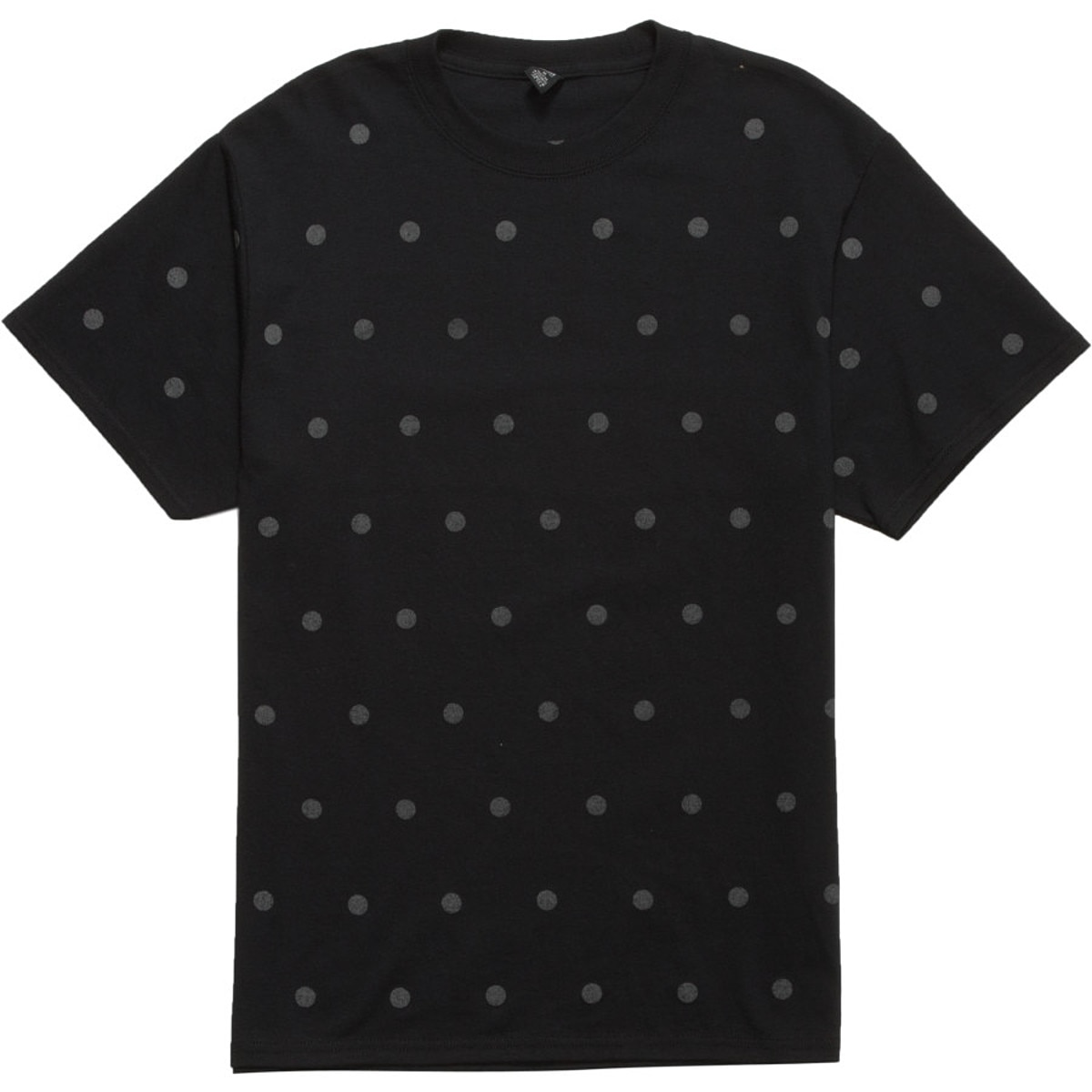 Icny polka dot t shirt short sleeve men 39 s for Mens polka dot shirt short sleeve