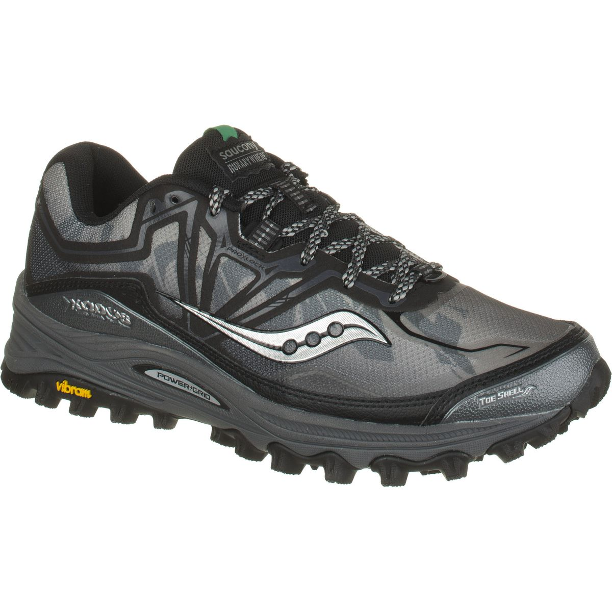 saucony powergrid xodus 6 0 trail running shoe men 39 s. Black Bedroom Furniture Sets. Home Design Ideas