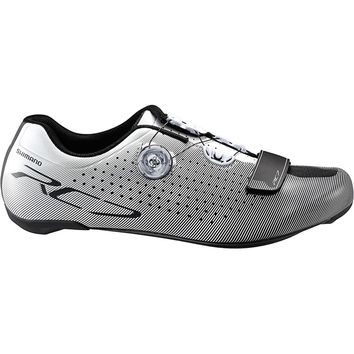 Mens White Cycling Shoes