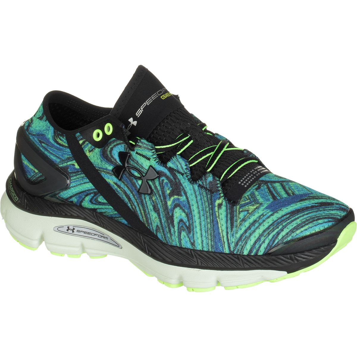 Psychedelic Running Shoes