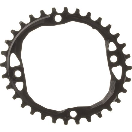 Absolute Black Oval Traction Chainring