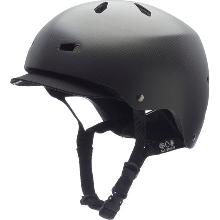 Bern Macon Carbon Fiber Helmet with Visor