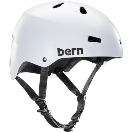 Bern Macon Thin Shell EPS Helmet with Visor - 2014