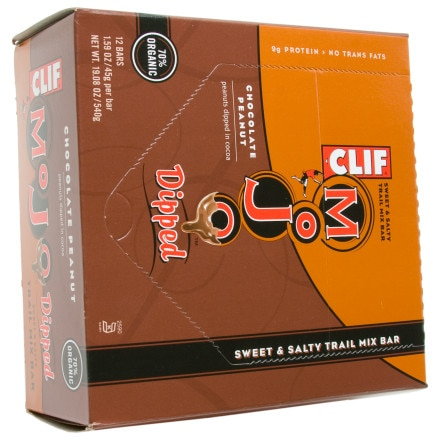 Clifbar Mojo Dipped Bar - 12 Pack