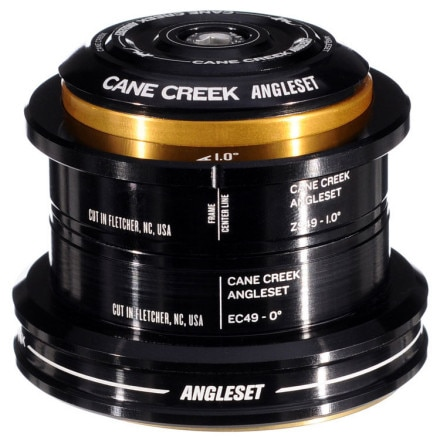 Cane Creek ZS49/EC49 AngleSet Tapered Headset Kit