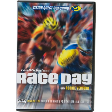 CycleOps realRides Race Day Trainer DVD