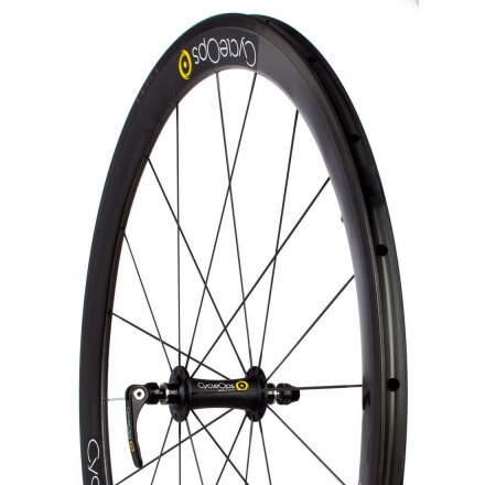 CycleOps PowerTap 45mm G3 Carbon Road Wheelset - Tubular