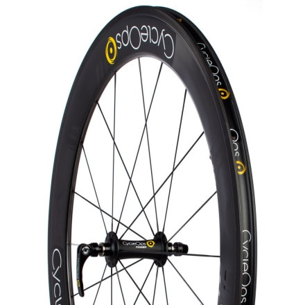 CycleOps PowerTap 65mm G3 Carbon Road Wheelset - Clincher