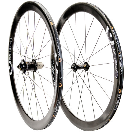CycleOps G3/Reynolds 46mm Carbon Clincher Wheelset with JOULE GPS