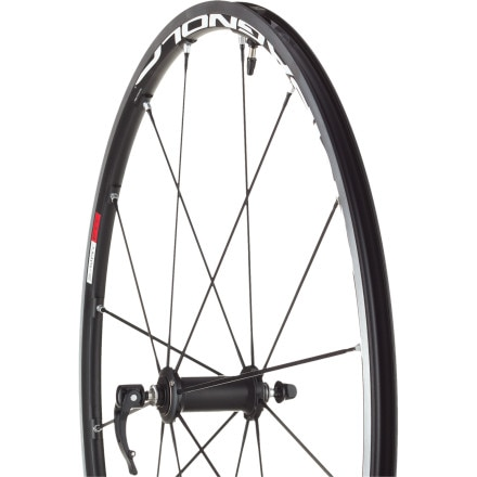 Campagnolo Eurus 2-Way Fit Black Road Wheelset - Clincher