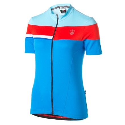 Campagnolo Sportswear Eagle Quad Full-Zip Jersey - Short-Sleeve - Women's