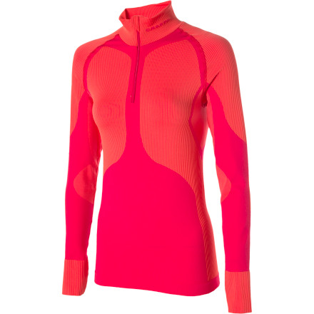Craft WARM Zip Mock Long Sleeve Women's Base Layer