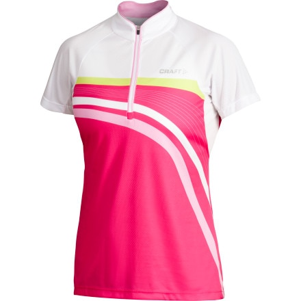 Craft PB Stripe Jersey - Short-Sleeve - Women's