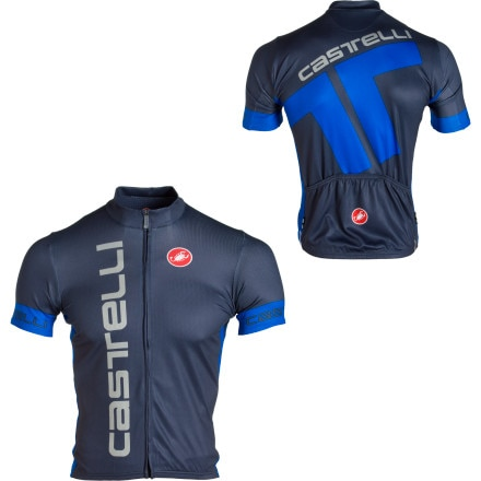 Castelli Podium Collection Mortirolo Jersey - Short-Sleeve - Men's