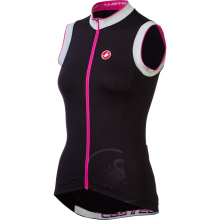 Castelli Perla Full-Zip Sleeveless Women's Jersey