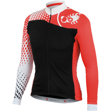 Castelli Sfida Long Sleeve Full-Zip Jersey