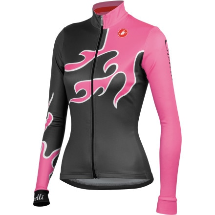Castelli Fiamma  Jersey - Long-Sleeve - Women's