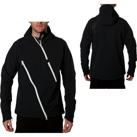Cutter Asymm Softshell Anorak - Men's
