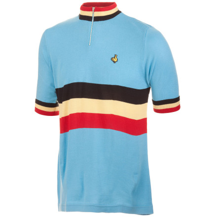 De Marchi Belgium Team Replica Short Sleeve Men's Jersey