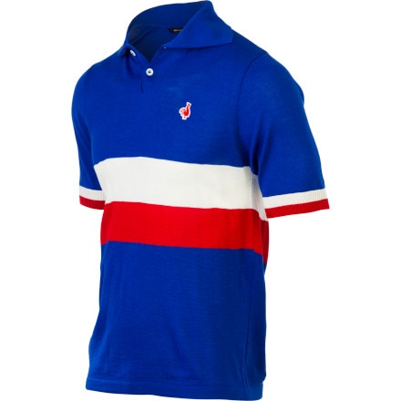 De Marchi France Team Replica Short Sleeve Men's Jersey