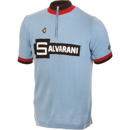 De Marchi Salvarani 1972 Replica Merino Short Sleeve Men's Jersey