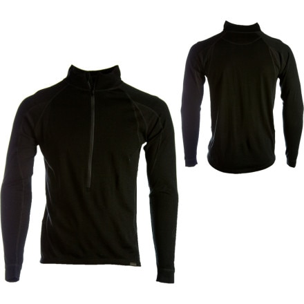 Endura Baa Baa Merino Zip-Neck Long Sleeve Jersey
