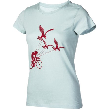 Endurance Conspiracy Flying Uphhill T-Shirt - Short-Sleeve - Women's