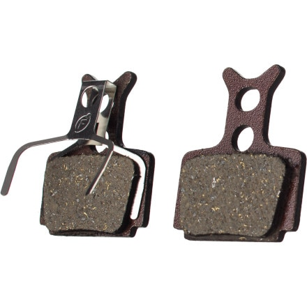 Formula Organic Brake Pad with Steel Backing Plates