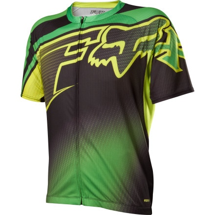 Fox Racing Livewire Descent Jersey - Short Sleeve - Men's