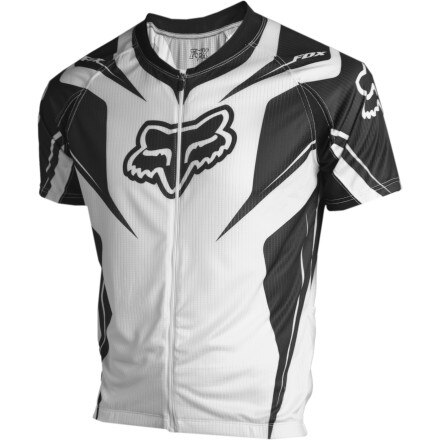 Fox Racing Race Full-Zip Short Sleeve Jersey