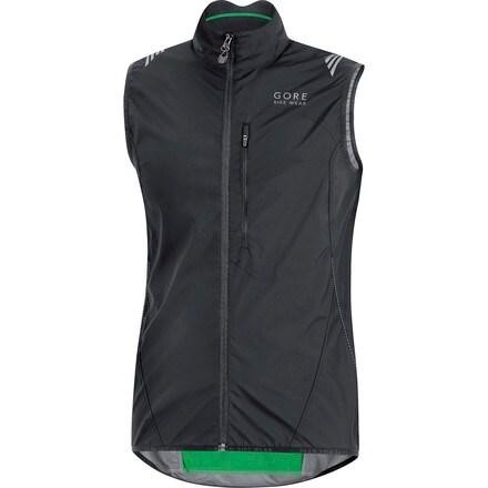 Element WindStopper Active Shell Vest - Men's Gore Bike Wear