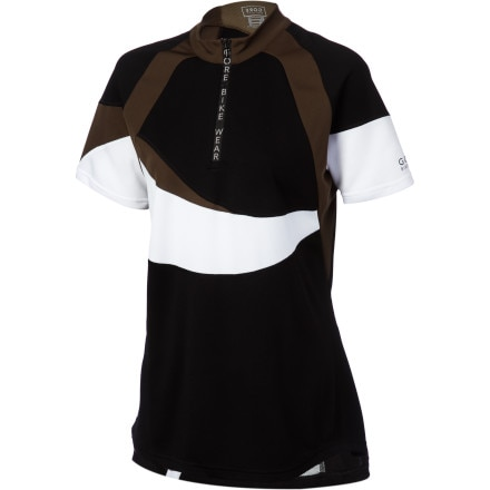 Gore Bike Wear Fusion 1/2-Zip Short Sleeve Women's Jersey