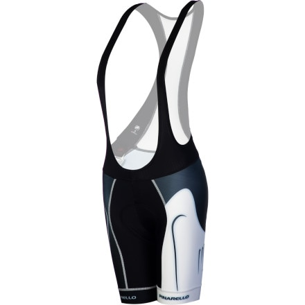 Giordana Trade FormaRed Carbon Pinarello Women's Bib Shorts