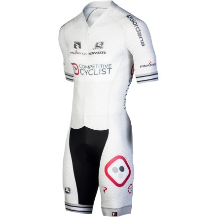Giordana Competitive Cyclist Team Speedsuit - Short-Sleeve