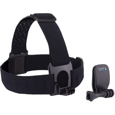 GoPro Head Strap Mount + QuickClip