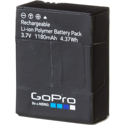 GoPro Rechargeable Battery 2.0 (HERO3/HERO3+ only)