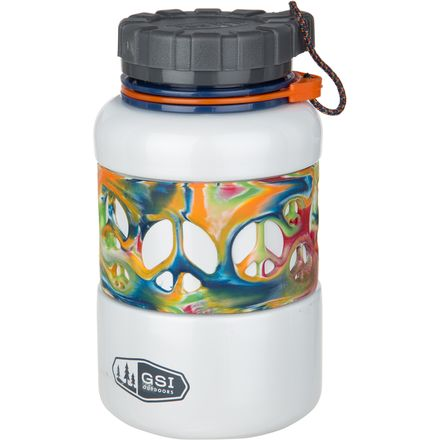 GSI Outdoors Glacier DukJug-Peace Premium Backcountry Stainless Steel Water Bottle