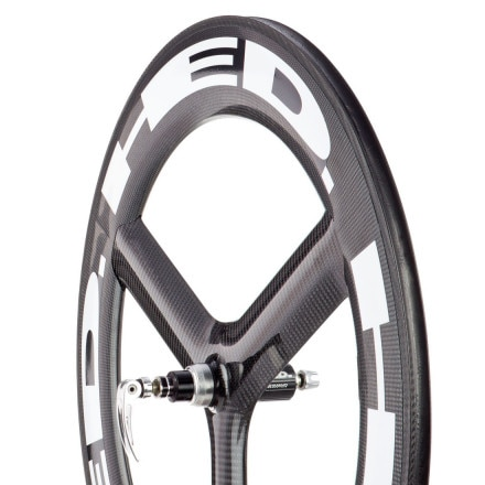 HED H3 Deep FR Carbon Rear Wheel - Tubular