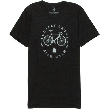 Locally Grown Bike Local Utah Tri-Blend T-Shirt - Men's
