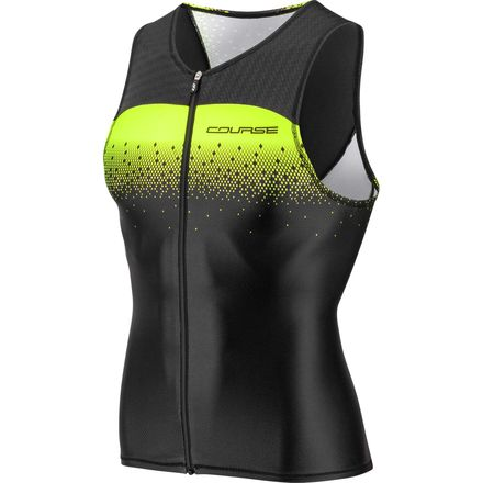 Tri Course Sleeveless Jersey - Men's Louis Garneau
