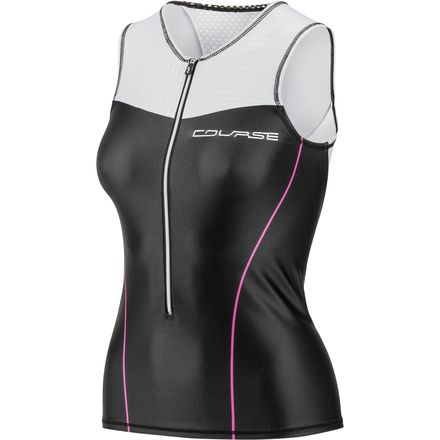 Course Vector Sleeveless Tri Top - Women's Louis Garneau