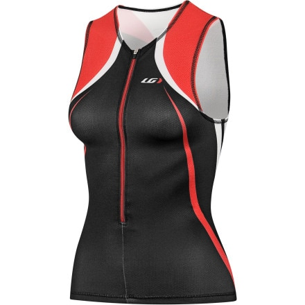 Louis Garneau Tri Elite Course Jersey - Sleeveless - Women's