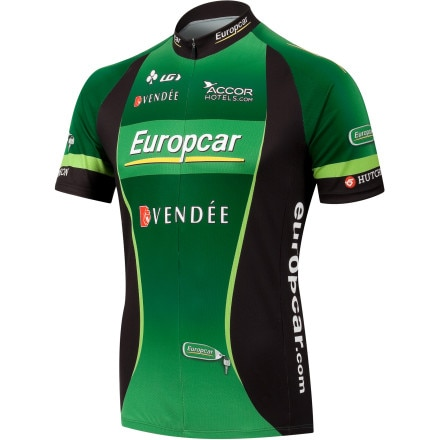 Louis Garneau Europcar Replica Men's Jersey