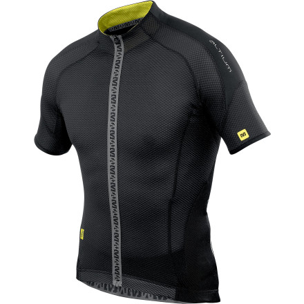 Mavic Helium Full-Zip Cycling Jersey - Short-Sleeve - Men's