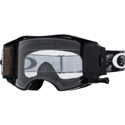 Oakley Airbrake MX with Race-Ready Roll-Off System Goggles