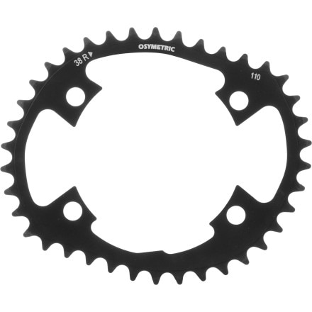 O-14 4 Arm Chainring 110mm BCD Osymetric