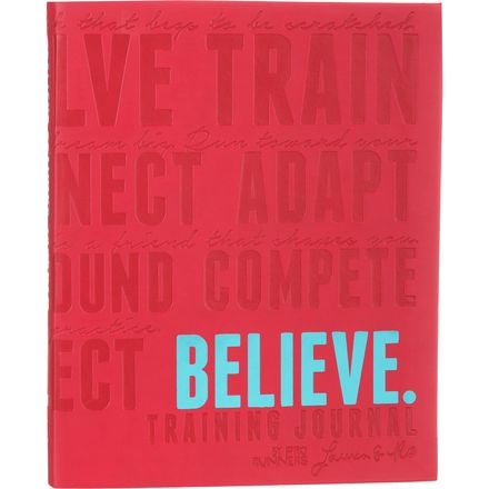 Picky Bars Believe Training Journal